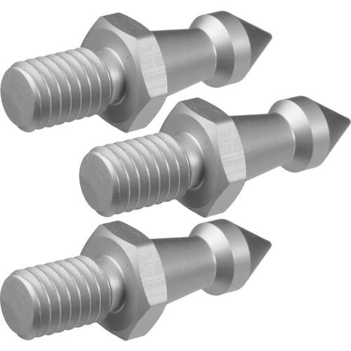 Oben Metal Spikes (3 Pieces) for 3/8