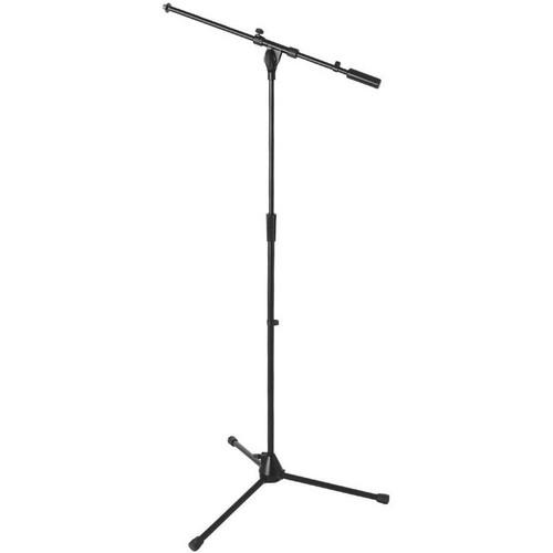 On-Stage MS9701B  Heavy-Duty Euro Boom Mic Stand (Black)