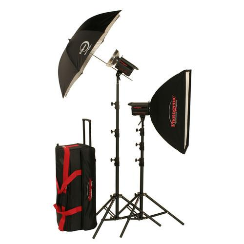 Photogenic 1,000W/s PowerLight Digital Travel Kit (120V) 900040