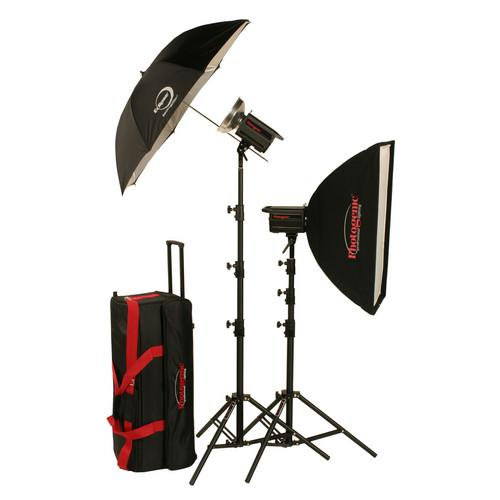 Photogenic 1,000W/s Solair Digital Travel Kit (120V) 900070