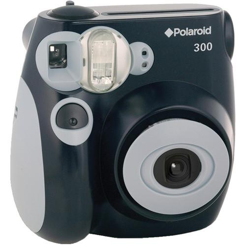 Polaroid 300 Instant Film Camera with Instant Film Kit (Black)