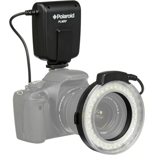Polaroid  Macro LED Ring Flash for Nikon PLMRFN