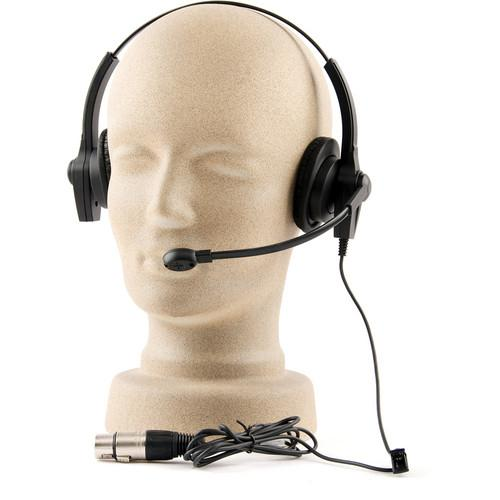 PortaCom H-2000LT Lightweight Headset with Mic H-2000LT