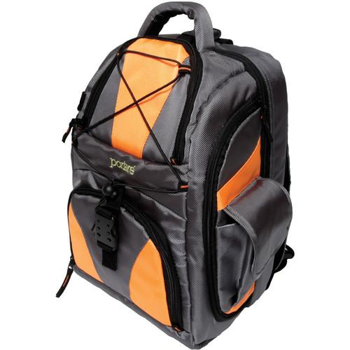 Portare Bags Multi Use Backpack (Gray/Orange) PBP2-O