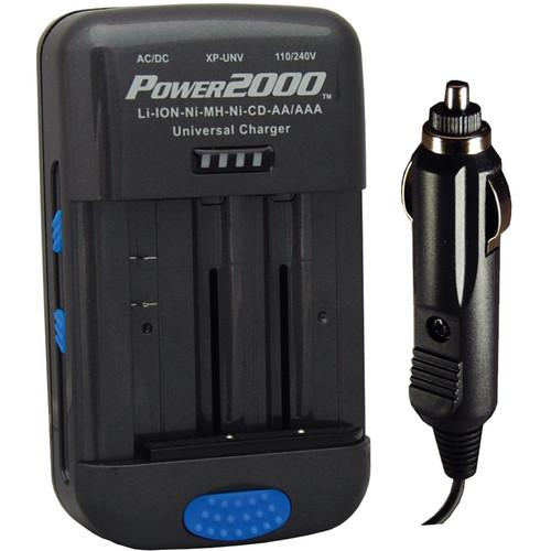 Power2000 XP-UNV AC/DC Universal Battery Charger XP-UNV