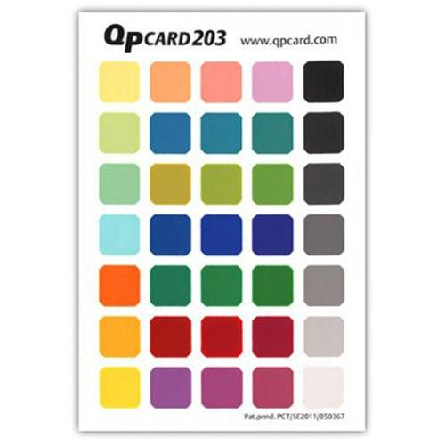QP Card  QP Color Reference Card 203 Book GQP203
