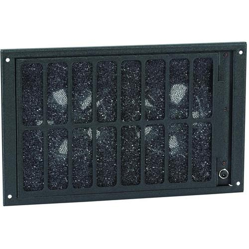 Raxxess Bottom-mounted Filtered Fan Panel NAFB2BW