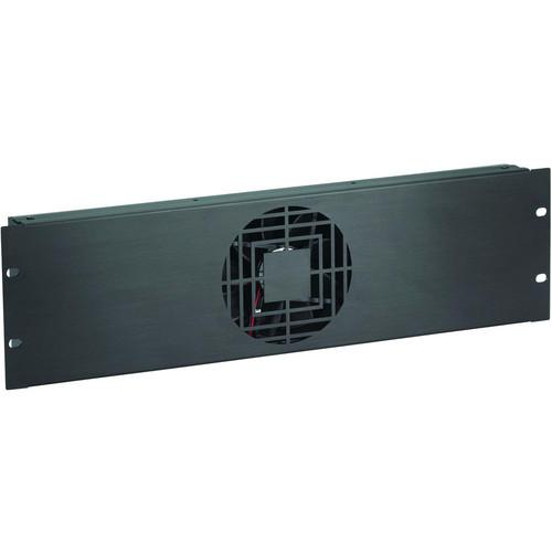 Raxxess NAF31QBA 3 U Quiet Single Fan Panel NAF31QBA