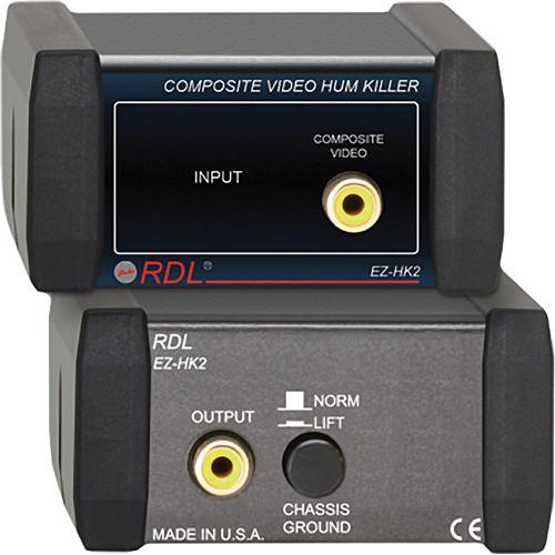 RDL  EZ-HK2 Composite Video Hum Killer EZ-HK2