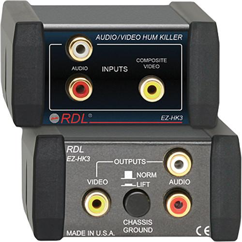 RDL  EZ-HK3 Audio / Video Hum Killer EZ-HK3