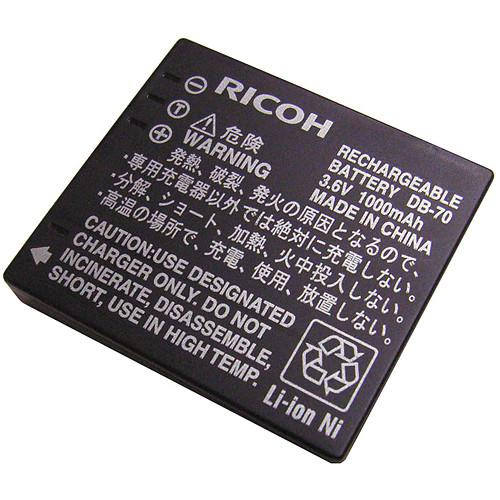 Ricoh  DB-70 Li-Ion Rechargeable Battery 171963