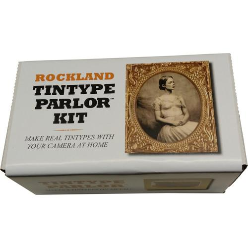 Rockland  Tintype Parlor 8 Plate Kit TTP