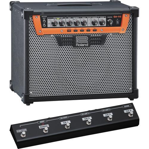 Roland GA-112 Guitar Amplifier with GA-FC GA Foot GA-112C