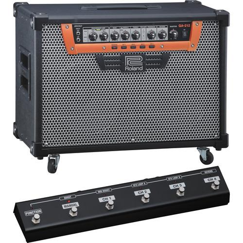 Roland GA-212 Guitar Amplifier with GA-FC GA Foot GA-212C