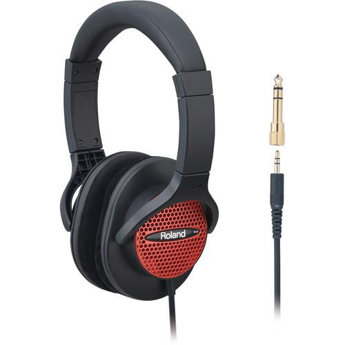 Roland  RH-A7 Monitor Headphones (Red) RH-A7-RD