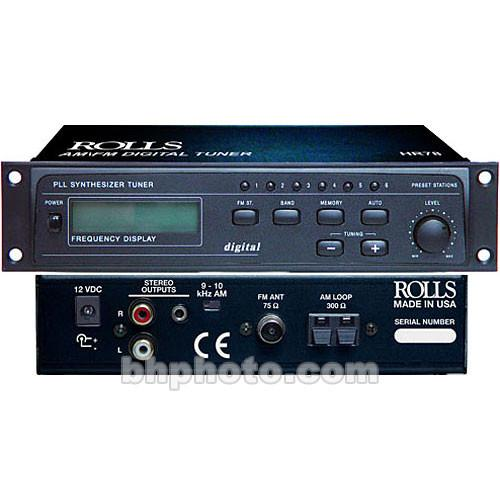 Rolls HR78 PLL Synthesized Digital AM/FM Tuner HR78