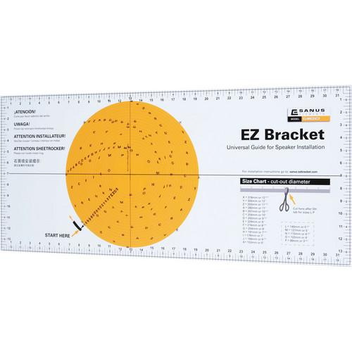 SANUS  Elements EZ Bracket (12-Pack) ELMEZIC12