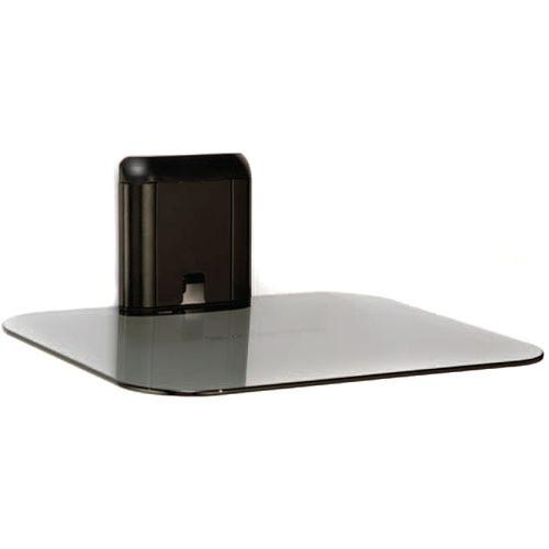 SANUS Single Accessory On-Wall Component Shelf (Black) VMA401-B1