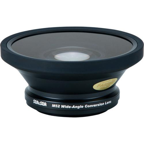 Sea & Sea M52 Wide-Angle Conversion Lens For Olympus PT SS-52120