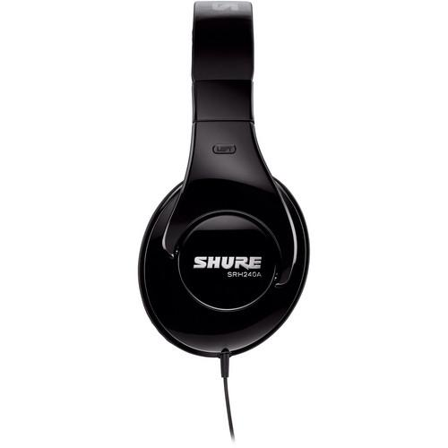 Shure SRH240A Professional Around-Ear Stereo Headphones SRH240A