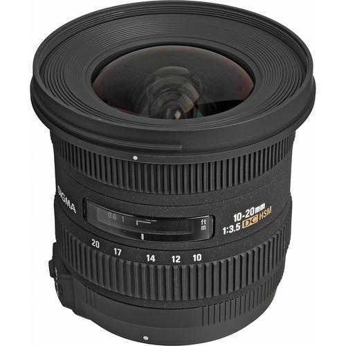 Sigma 10-20mm f/3.5 EX DC HSM Autofocus Zoom Lens For Nikon