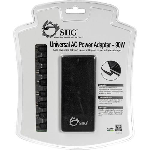 SIIG  Universal AC Power Adapter 90W AC-PW0012-S1
