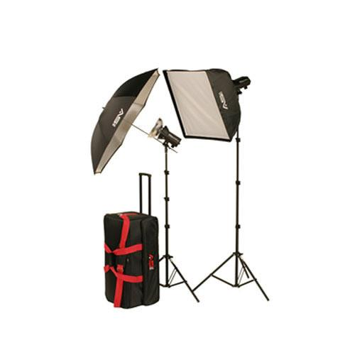 Smith-Victor FL400K Two Monolight Softbox/Umbrella Kit 402300