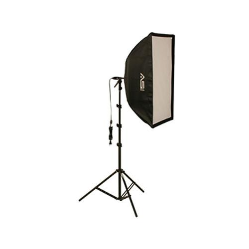 Smith-Victor KSB-500F Economy Soft Box Light Kit (120V) 402370