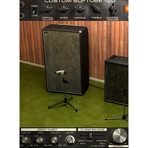 Softube Bass Amp Room - Bass Amplifier and Speaker SFT-BAR-NAT
