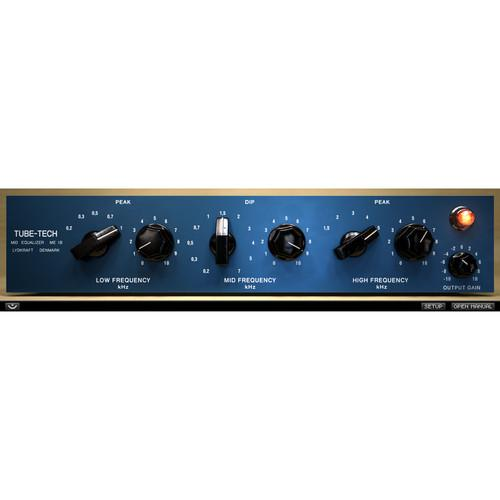 Softube Tube-Tech ME 1B - EQ Plug-In (Native) SFT-ME1-1