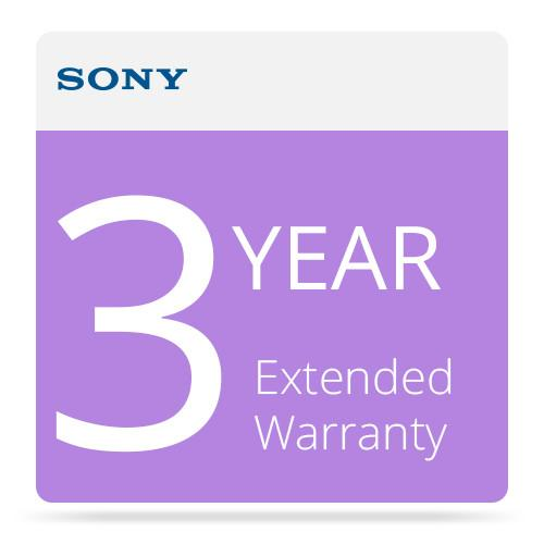 Sony 3-Year Extended Warranty for 9