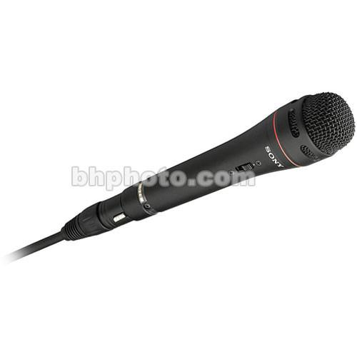 Sony F-720 - Uni-Directional Handheld Microphone F720