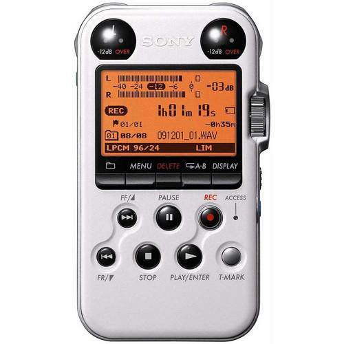 Sony PCM-M10 Portable Audio Recorder (White) PCM-M10 / WHITE