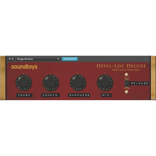 SoundToys Devil-Loc Deluxe - Audio Level DEVILLOCDELUXE