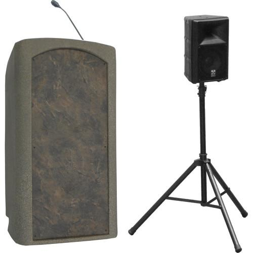 Summit Lecterns Presenter Lectern (Beige Granite) SPL102BG0