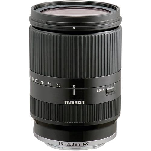 Tamron 18-200mm F/3.5-6.3 Di III VC Lens for Sony E AFB011-700