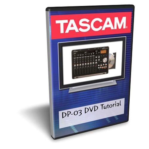 Tascam  DP-03 Tutorial DVD DP-03DVD