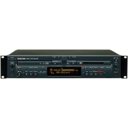 Tascam MD-CD1MKIII Combination CD Player and MD-CD1MKIII