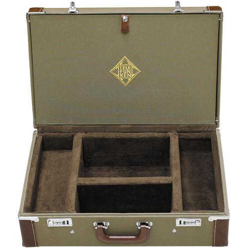 Telefunken Combination Locking Flight Case for two C12, FC10S