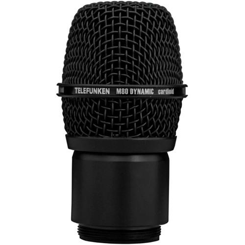 Telefunken M80 Wireless Dynamic Microphone Capsule M80-WH BLACK