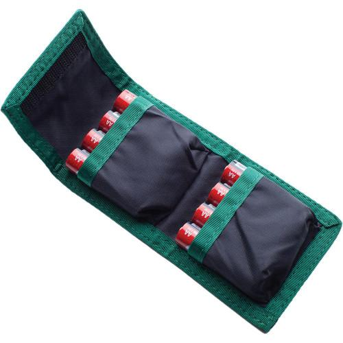 Think Tank Photo 8 AA Battery Holder (Black with Green Trim) 970