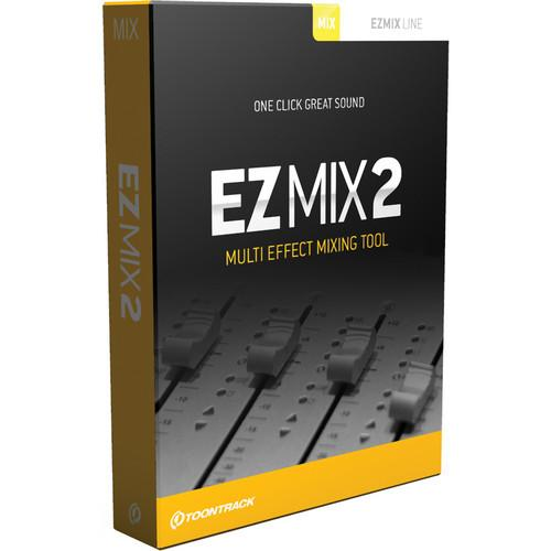Toontrack EZmix 2 - Virtual Effects Chains TT195SN