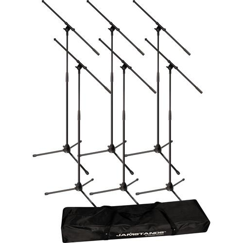 Ultimate Support JamStands JS-MCFB6PK 6-Pack Tripod Mic 17461