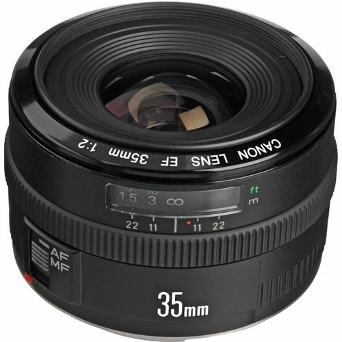 Used Canon  EF 35mm f/2 Lens 2507A006AA