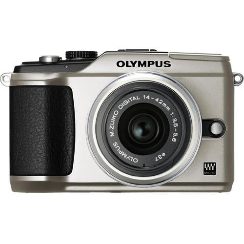 Used Olympus PEN E-PL2 Digital Camera (Silver) W/14-42mm 262911B