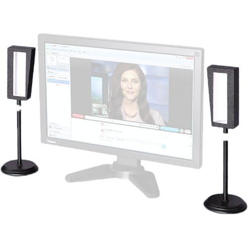 Videssence ViewMe Video Chat Lighting Kit with Stands KVM2004-S