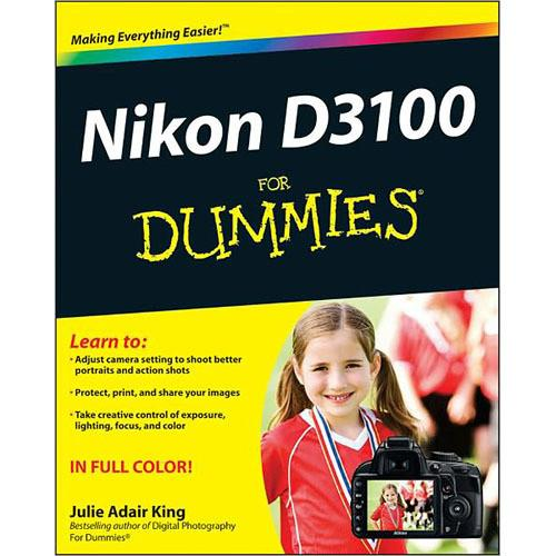 Wiley Publications Book: Nikon D3100 For Dummies 9781118004722