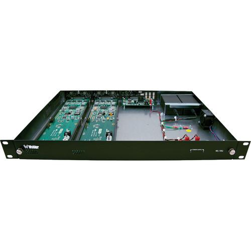 Wohler MC-1RU Modular Chassis Enclosure for HDCC Cards MC-1RU