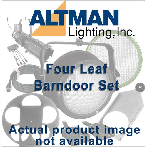 Altman Four Leaf Barndoor Set for IQUV-70, White IQ38-BD4-WH
