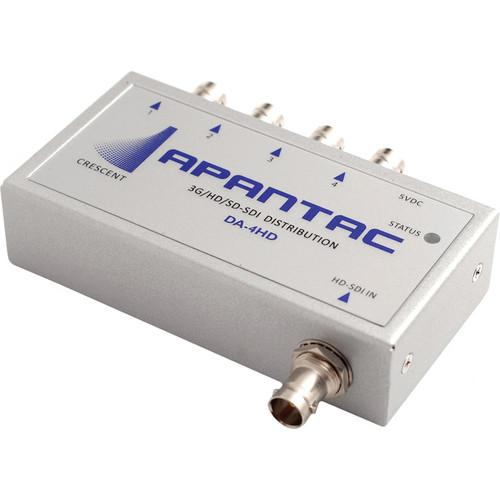 Apantac 3G-SDI 1x4 Re-Clocking Distribution Amplifier DA-4HD